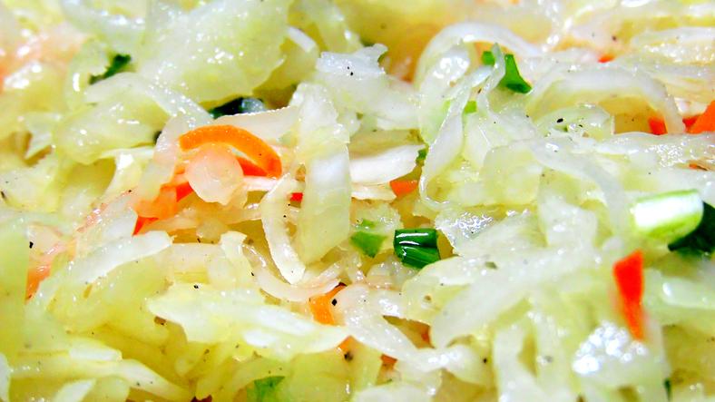 Sauerkraut close u,p