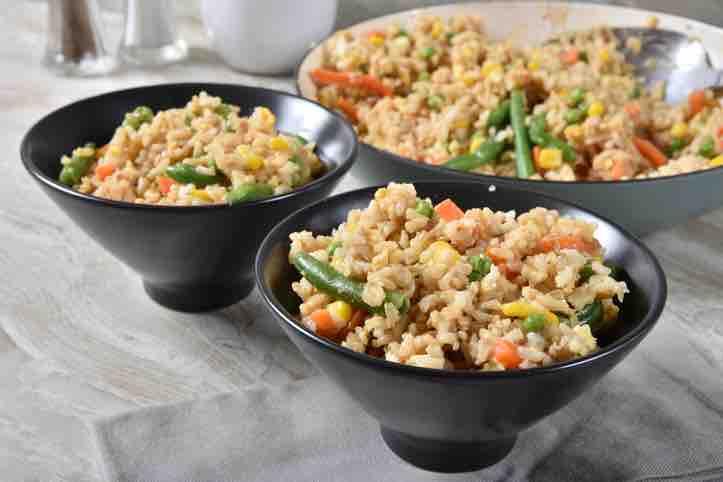 Macrobiotic brown rice