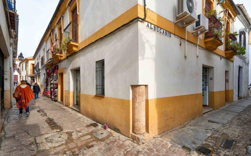 Albacusis street Cordoba, Andalucia, Spaina